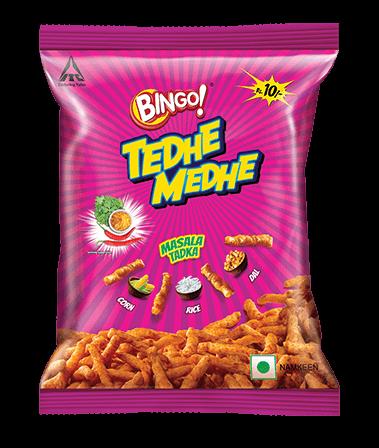 Bingo! Tedhe medhe - Masala Tadka